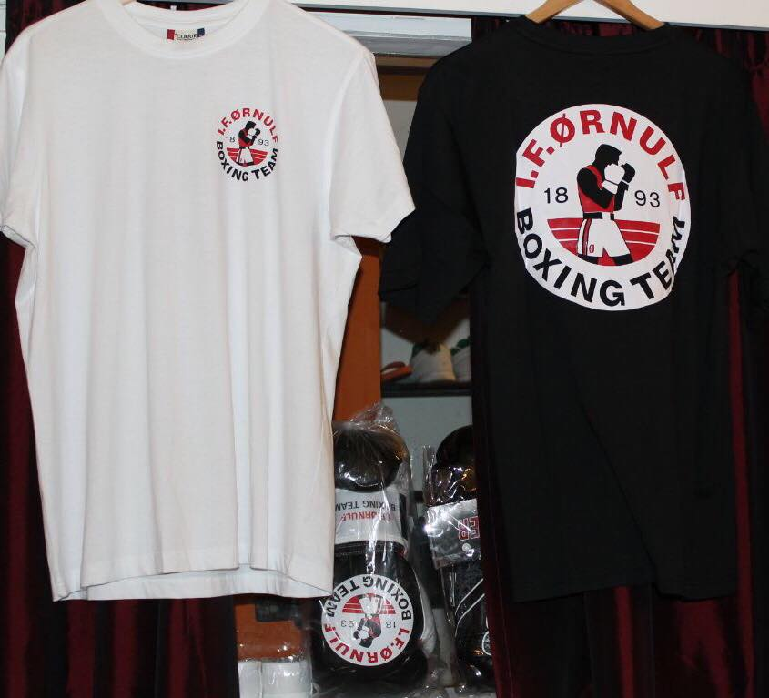 Ørnulf t-skjorter kr 190,-