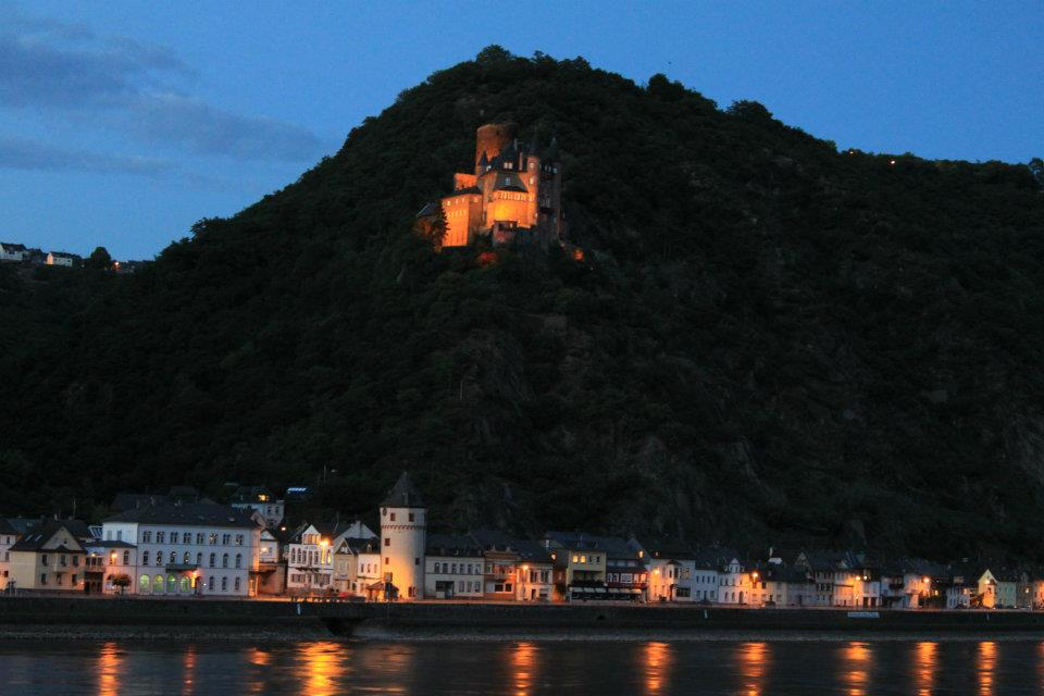 We made an impromptu overnight stop in the tiny town of St. Goar on the Rhine River. Pro tip: build in time in your vacation schedule to do and go wherever you want.