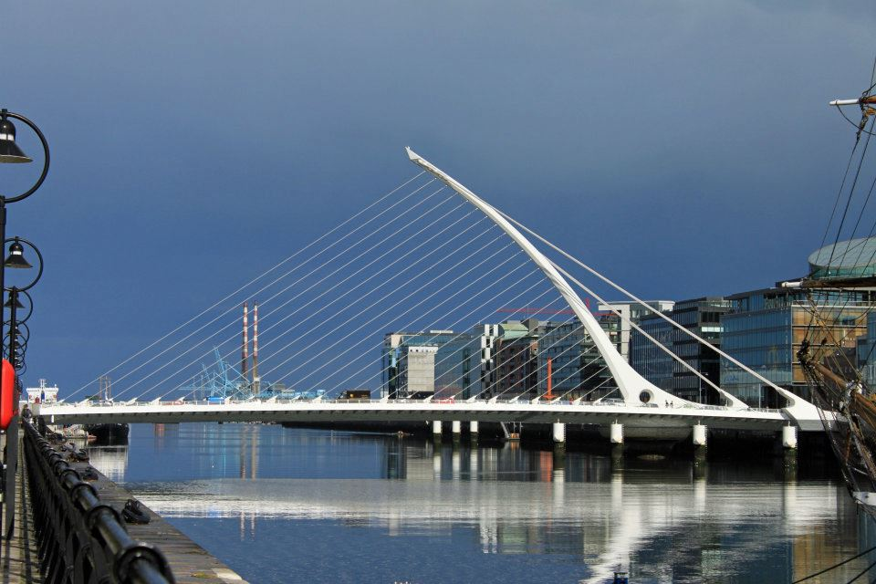 Dublin's Samuel Beckett Bridge