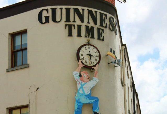 Guinness Clock Dublin