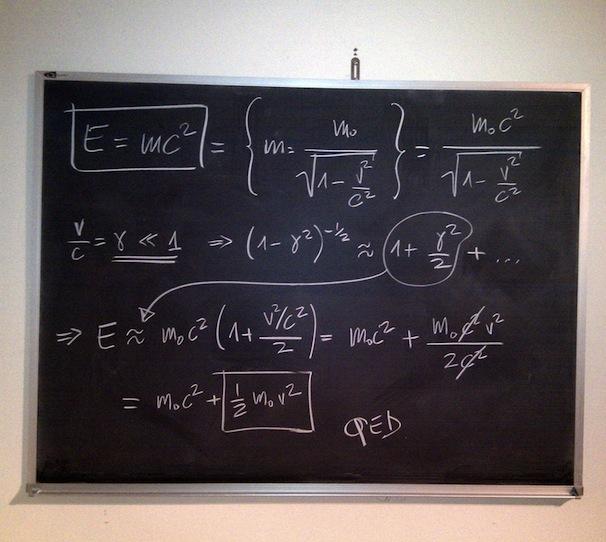 How to break in a new chalkboard