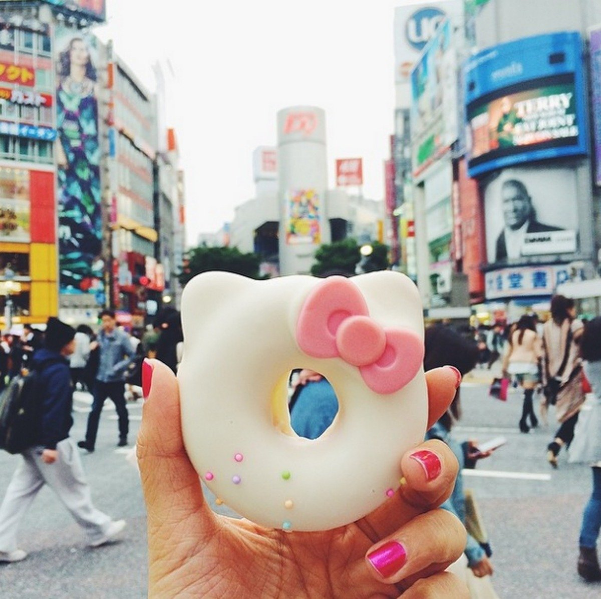 hello-kitty-donut-at-the-shibuya-crossing-in-tokyo-japan-this-was-too-cute-to-pass-up-from-the-basement-of-hikarie-building-one-street-away-from-hachiko