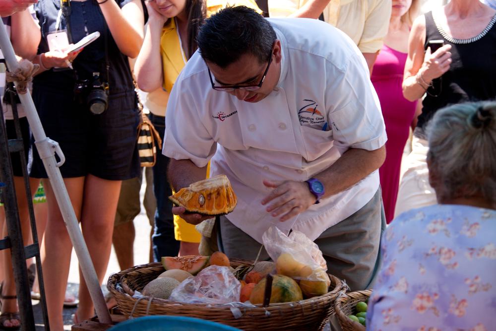 Chef Edgar Navarro at market.jpg