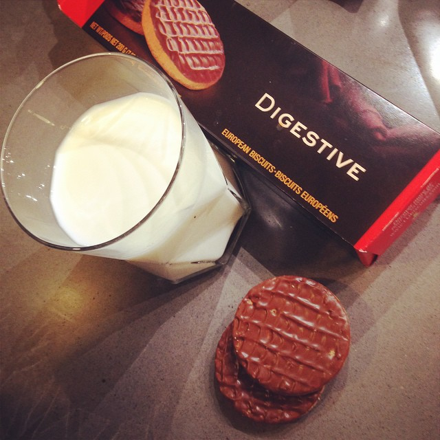 The #HungerGrams Day 6: I'm laying off the sauce this week, so it's milk and cookies for #HappyHour -  @paulbalcerak