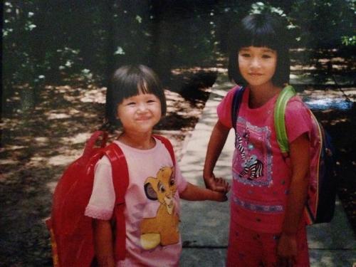 Erin (left)