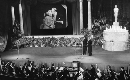 First televised Academy Awards, 1953. (http://www.findingdulcinea.com)