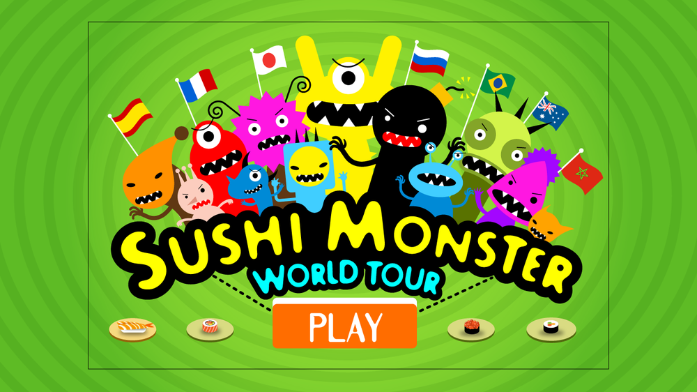 Sushi Monster World Tour