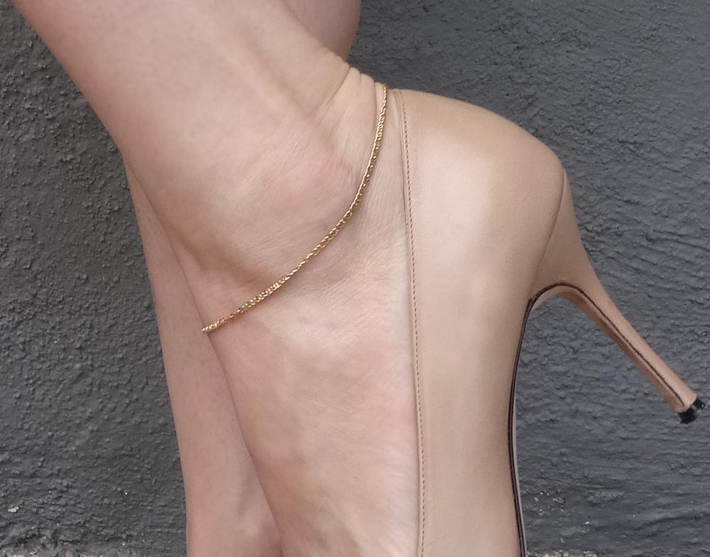 Ummm- Mom? Ankle bracelet?