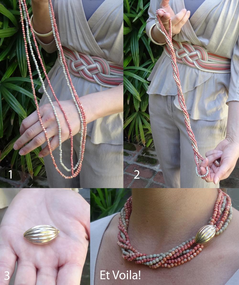 Vintage twist a beads!