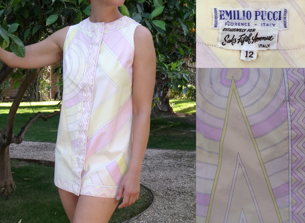 Vintage Pucci Swim Cover-up