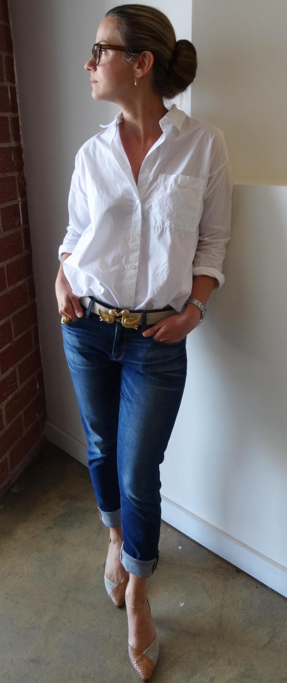 Vintage Duck Belt buckle