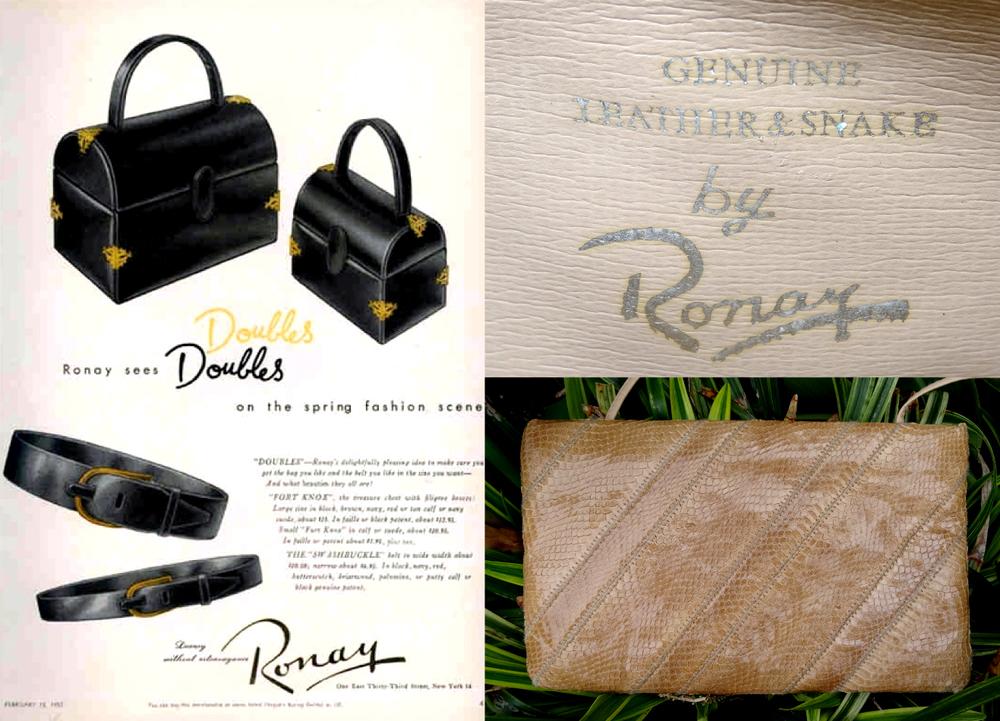 Ronay Bag Details