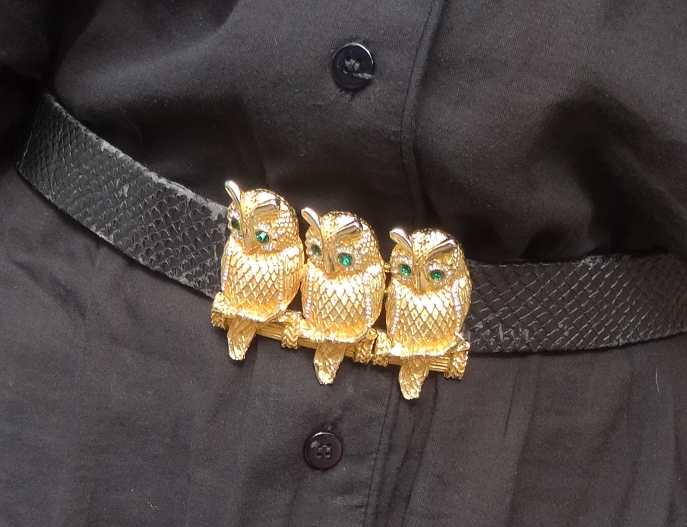 Owl Belt detail