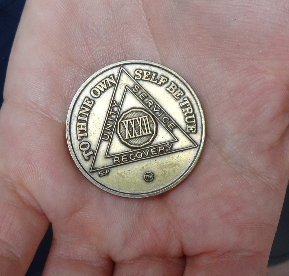 32 year anniversary coin