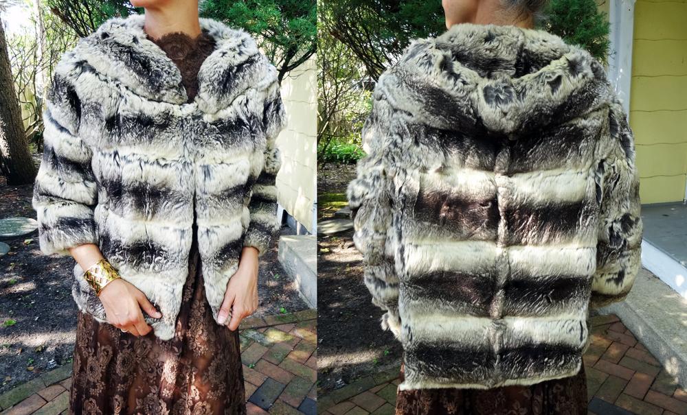 Vintage Chinchilla jacket