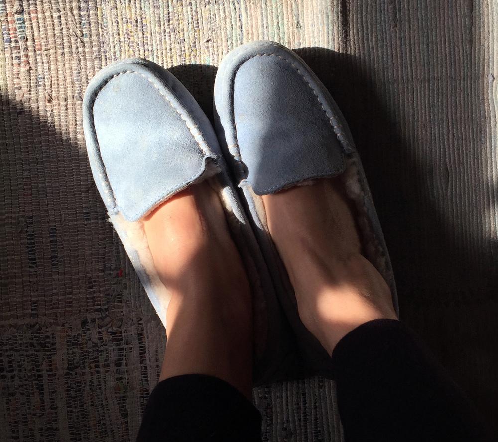 Mom's slippers