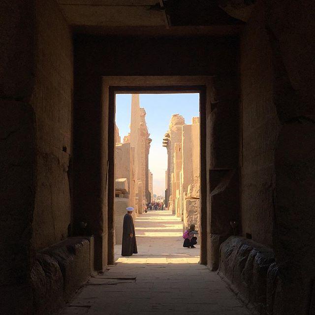 Temples of Karnak. Luxor, Egypt #egyptravel #sergioleoneshot