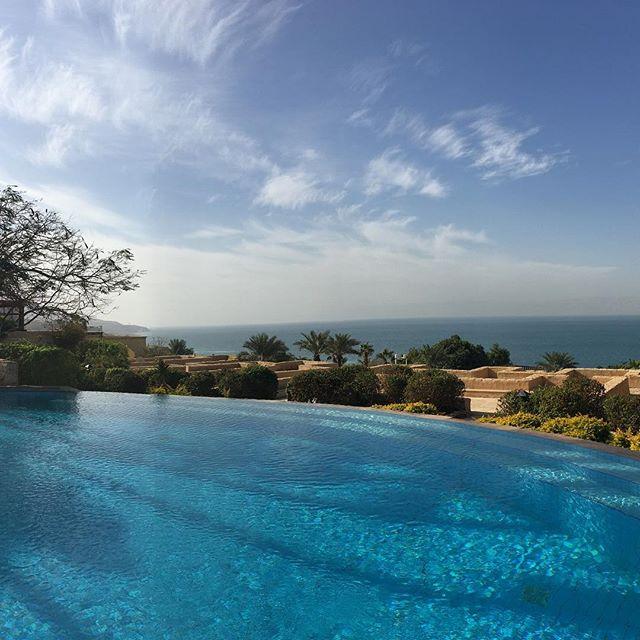 Dead Sea, Jordan #lowestpointintheworld #saltscrub #nofilter