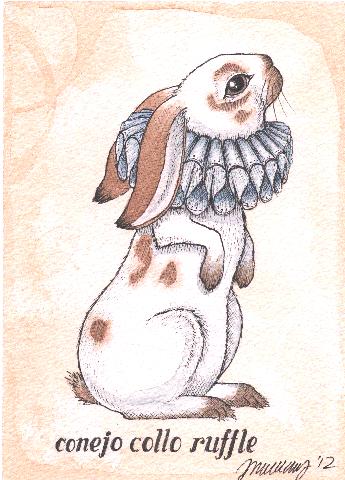 Conejo Collo Ruffle