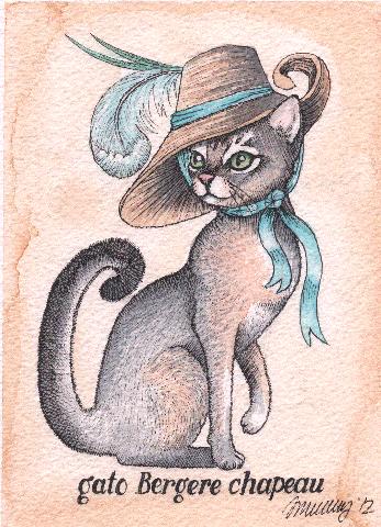 Gato Bergere Chapeau