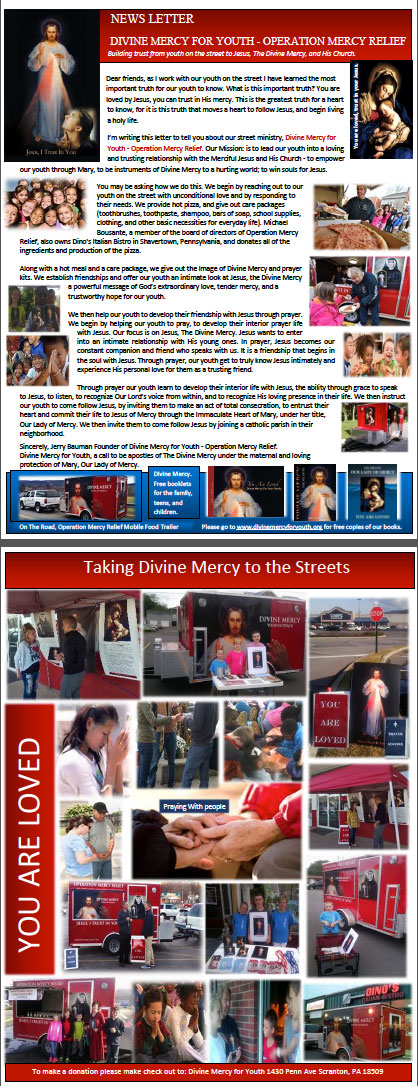 Divine Mercy Newsletter