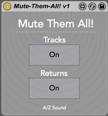 MuteThemAll!  - Interface