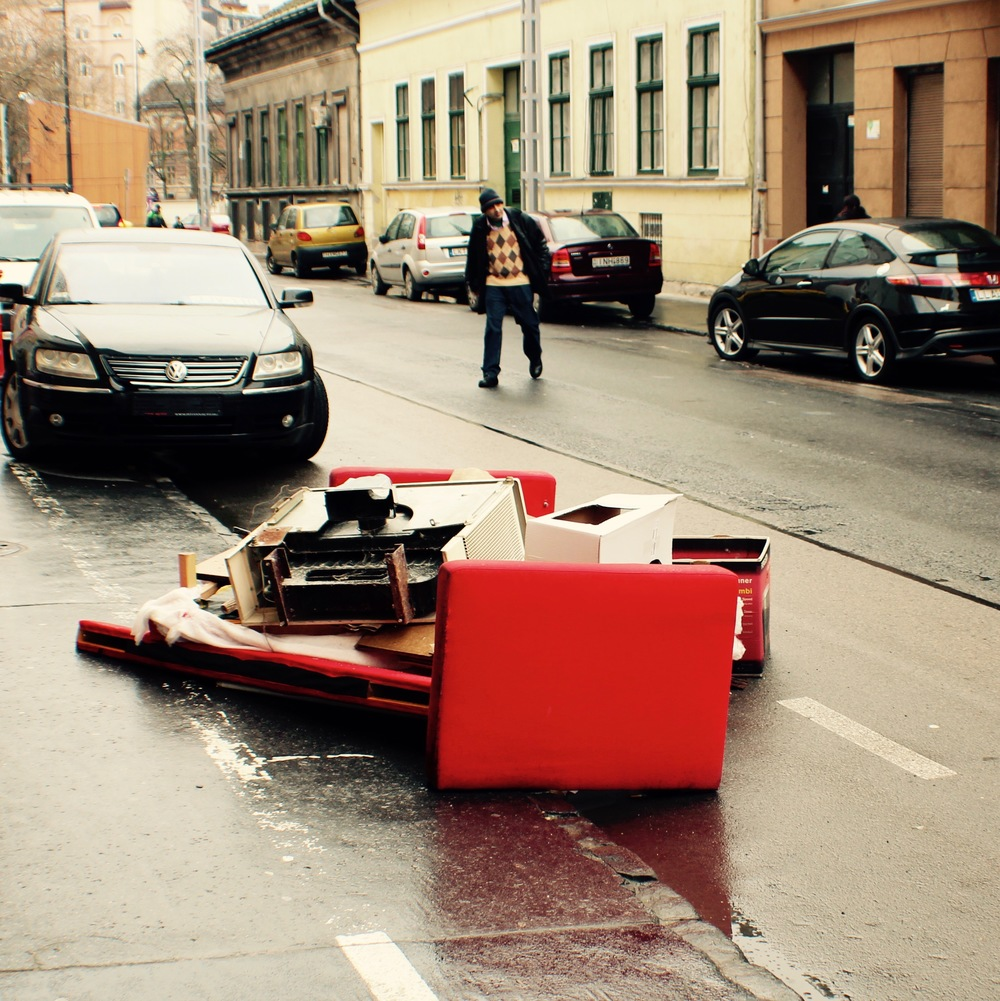 Pile # 1, Karácsony Sándor Street
