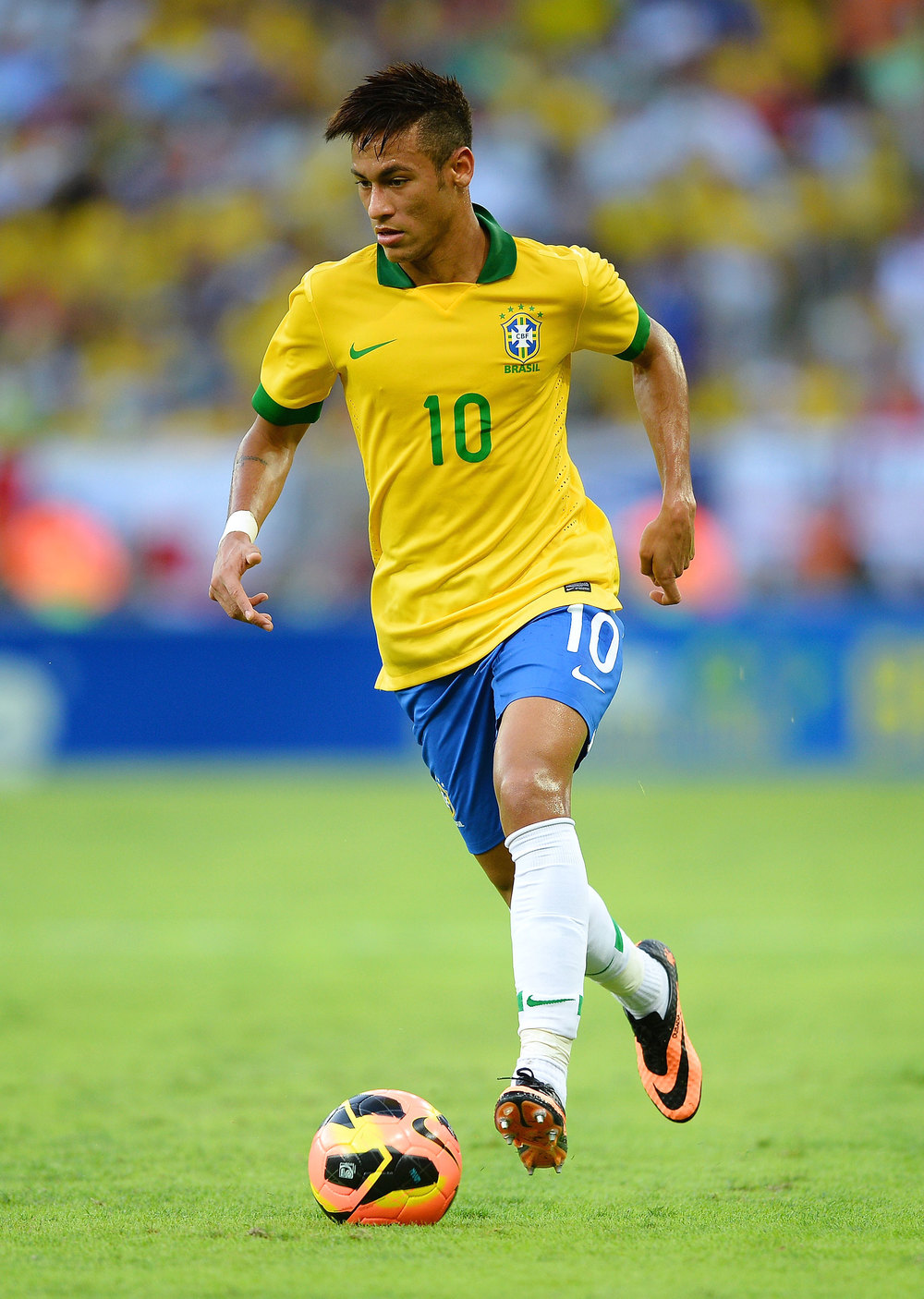 Brazil will heavily rely on forward Neymar for their high octane offense