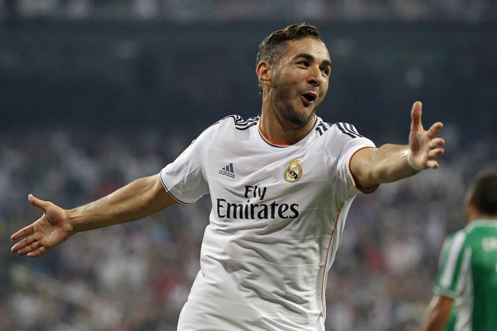 Karim Benzema had a great year this year with Real Madrid.