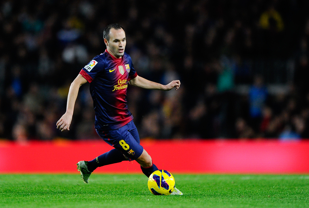 Iniesta will be managing the offense for Spain