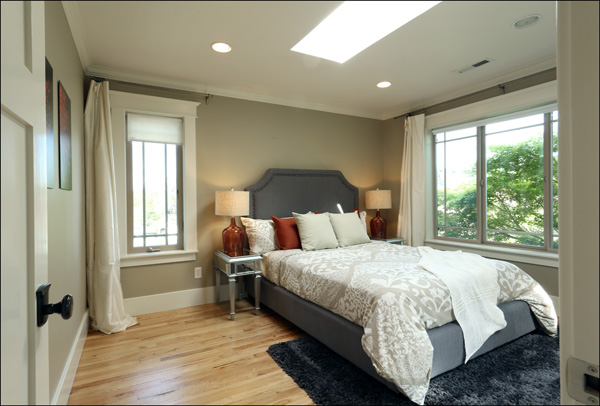 Master bedroom - upper level