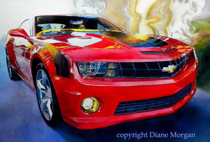 ec Hot as a Heartbeat watercolor by Diane Morgan.jpg