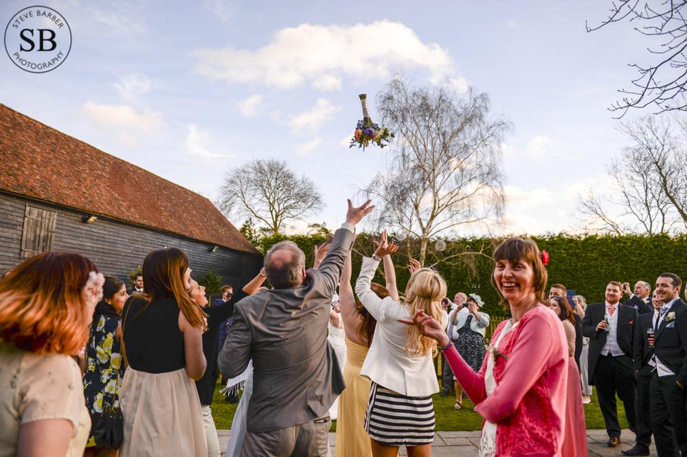 Winters barn-Kent-wedding-photographer