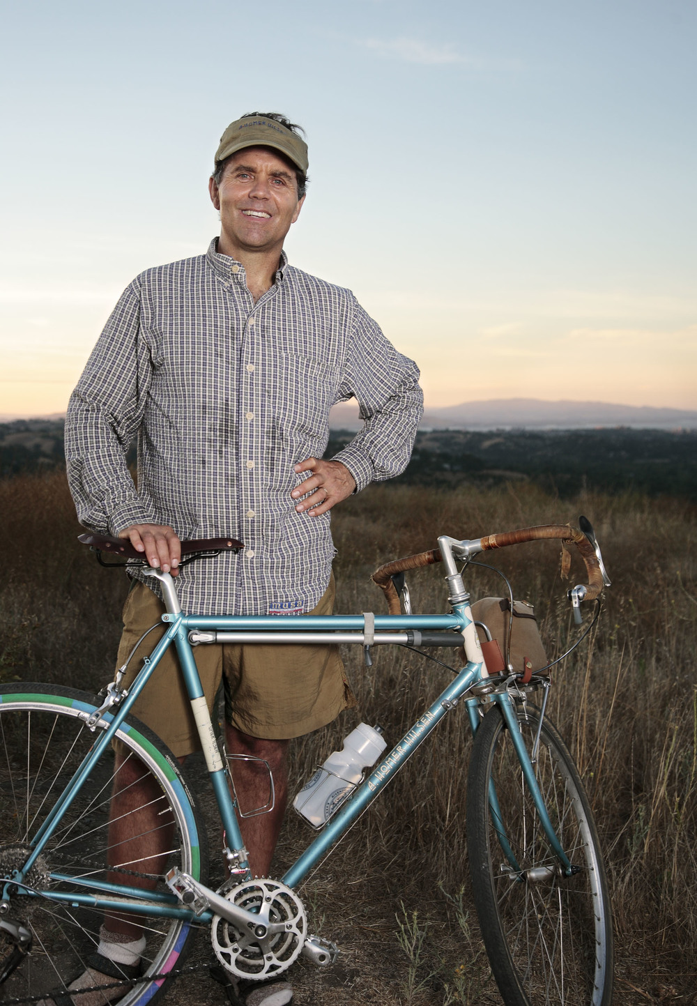 Grant Peterson, founder Rivendell Bicycle Works