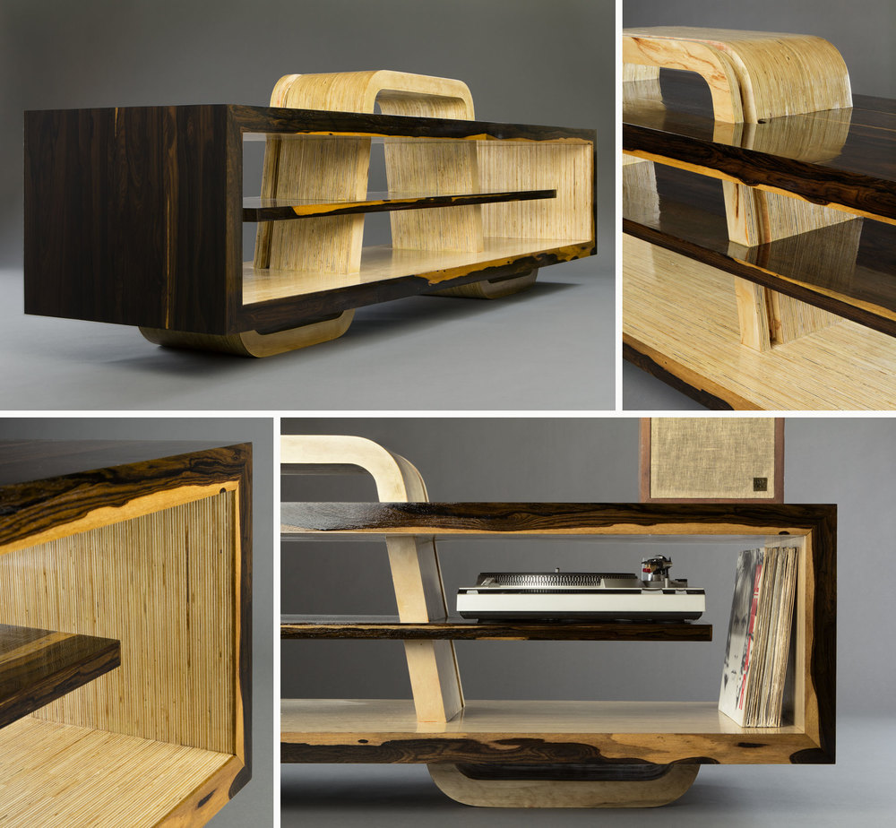 Tangbox Design - media console