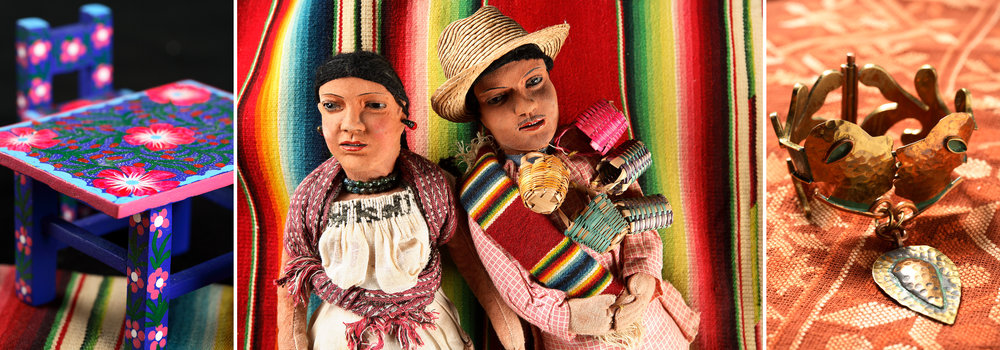 Mexican clothing and crafts
