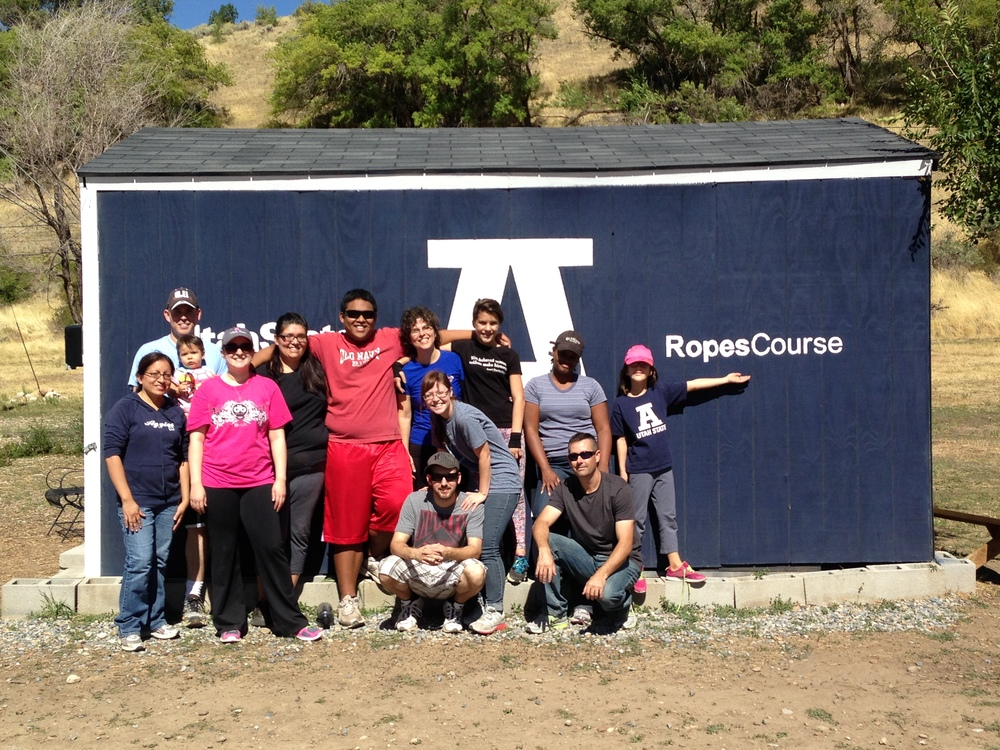 September 2013: USU Ropes Course