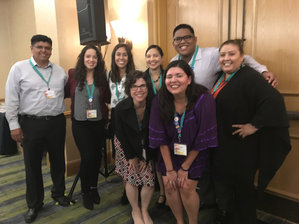 September 2016: Alumni and current students together at NLPA2016 in Orlando, FL.