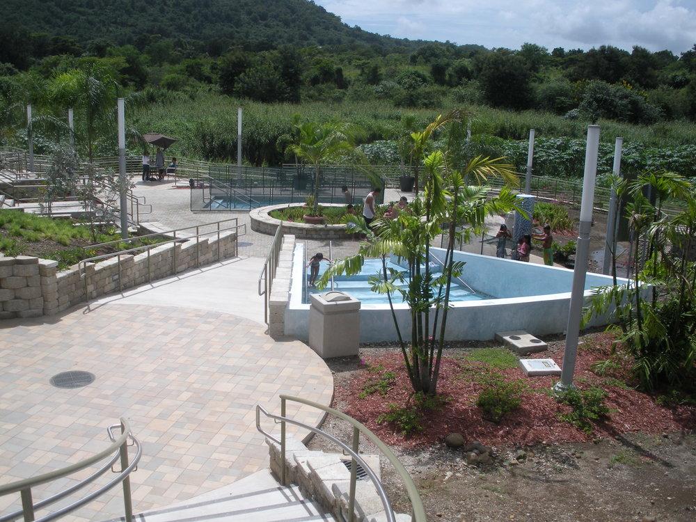 Baños de Coamo (hot springs), Coamo.