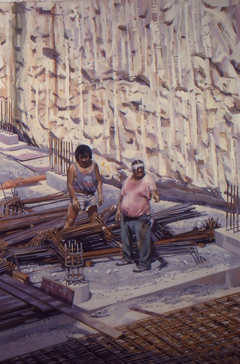 Men Laying Formwork