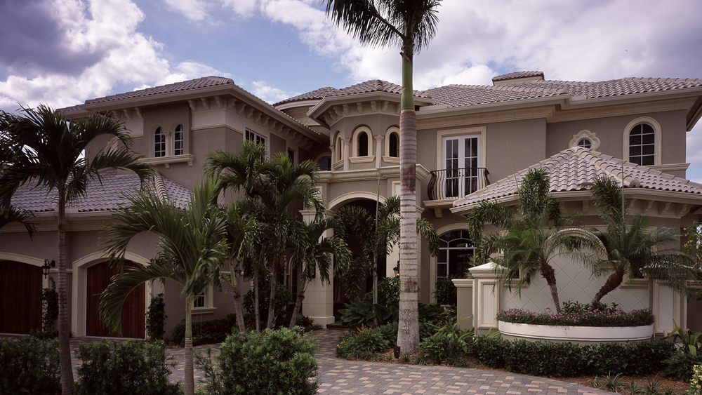 This 7,250 s.f., 2 story custom home is located in Miraso Golf and Country Club in Palm Beach Gardens, Florida. This home, designed with a Mediterranean Style, has 5 bedrooms, Theater, elevator and a grand circular stairway.