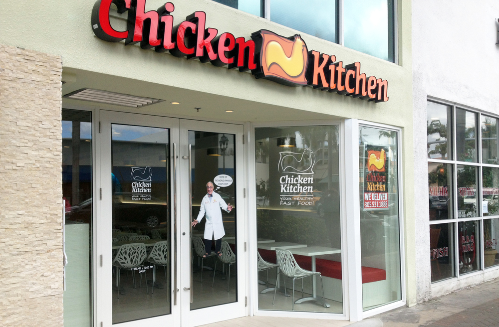 Chicken Kitchen Miami Beach — Yates Associates Architecture Inc.