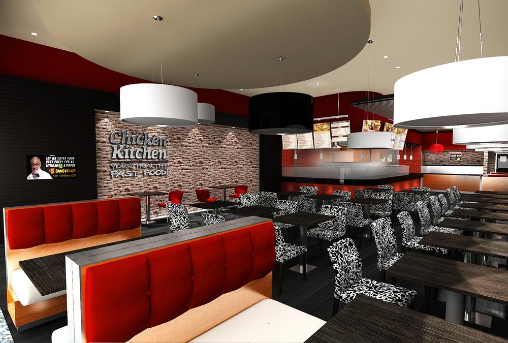 Chicken Kitchen Miami — Yates Associates Architecture Inc.