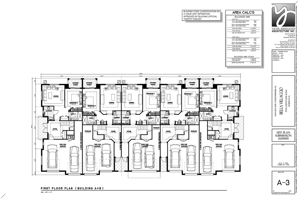 5 Unit Ground Floor Plan