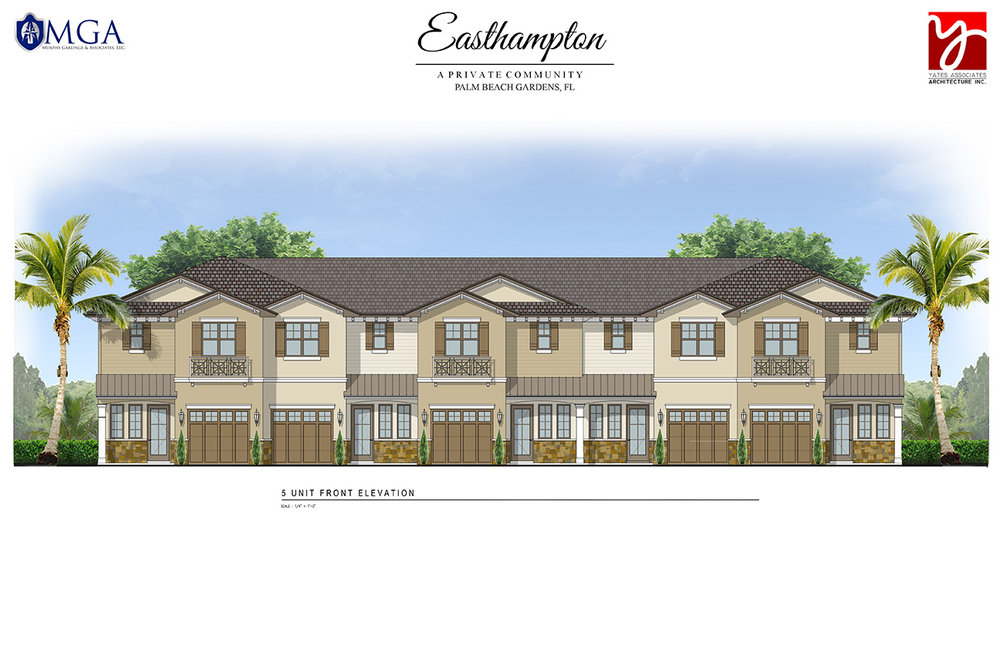 Five Unit Elevation