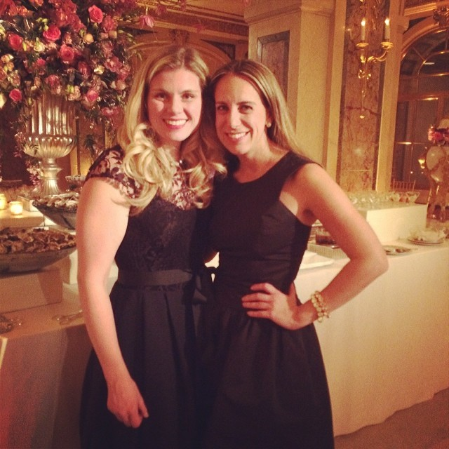 Having so much fun with @emilyreifel3 at the wedding of our amazing client!!! #plazawedding #somuchfun