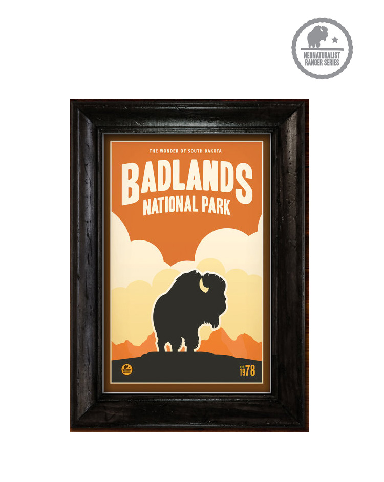 Badlands: National Park Poster. $37.00. Buy Now!
