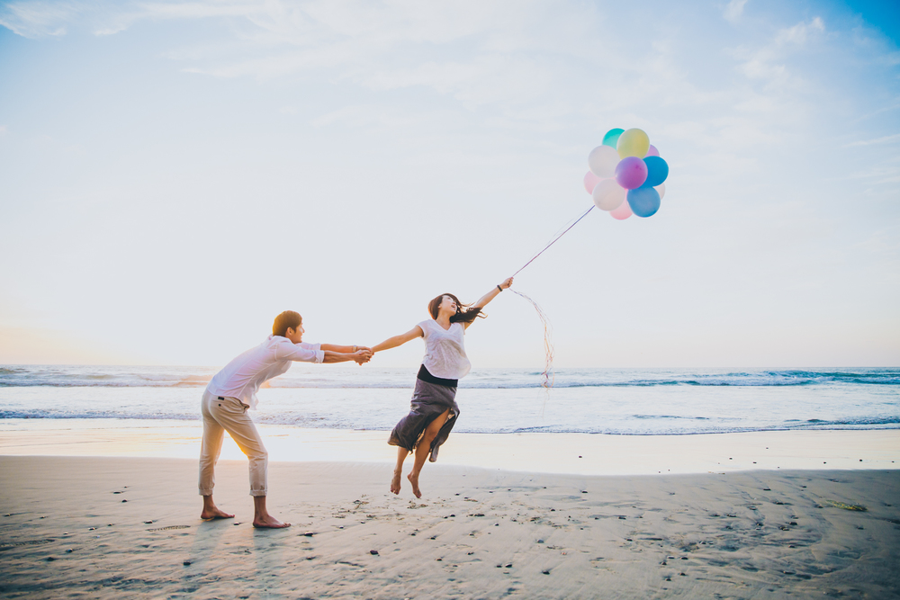 Torrey Pines State Beach Engagement, San Diego