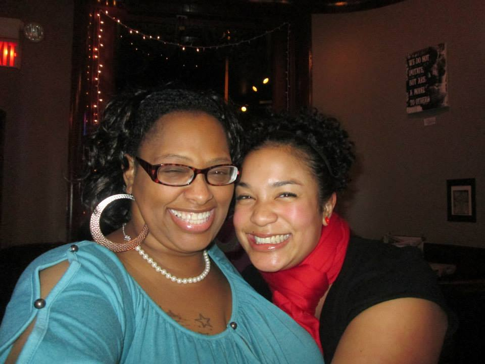 Carla Towns with Vickie Lynn (Photo by Vickie Lynn)