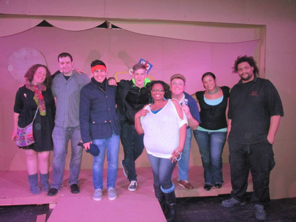 left to right: Liz Newman, Mike Werckle, Thomas Luna, Colton Crain, Vickie Lynn, Chad Brazzle, Carla Towns, Erik Myles (Photo provided by Vickie Lynn)